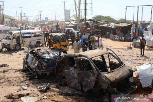 Sedikitnya 61 orang tewas akibat ledakan bom mobil di Mogadishu
