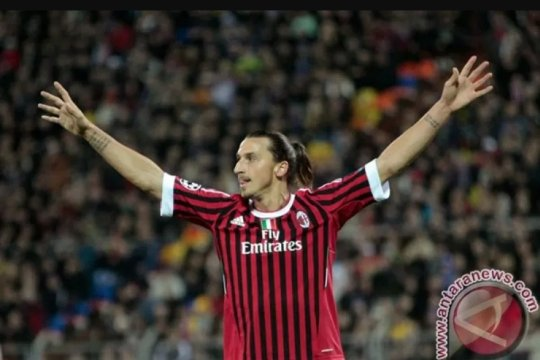 Zlatan Ibrahimovic resmi kembali perkuat AC Milan