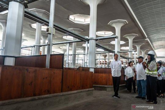 Selesai dibangun, Pasar Johar mulai beroperasi Juli 2021
