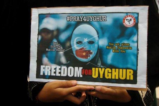 Aksi solidaritas Uyghur Page 1 Small