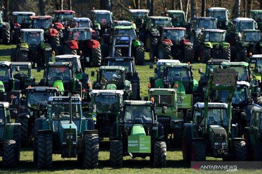 Protes petani di Jerman