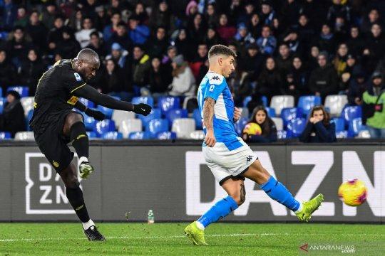Liga Italia, Lukaku akhiri kutukan Inter di San Paolo