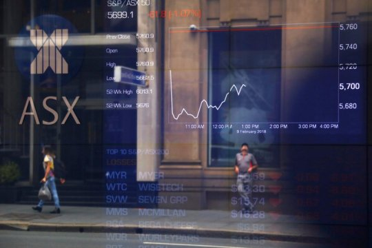 Bursa Australia Senin dibuka lebih rendah terseret saham perbankan