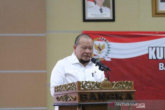 Bupati Bangka harap Ketua DPD RI mampu wujudkan KEK Pariwisata