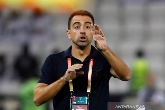 Xavi tak menutupi keinginan melatih Barcelona