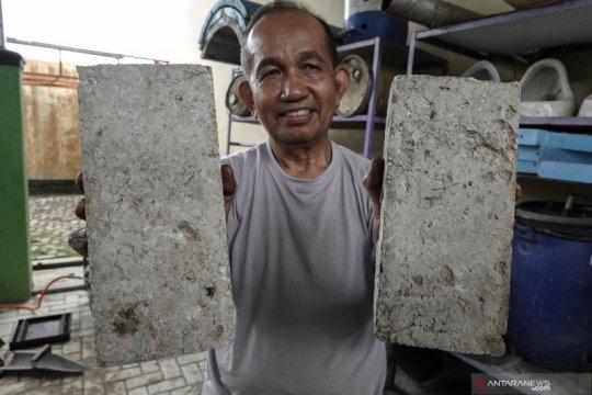 Batu bata dari sampah organik