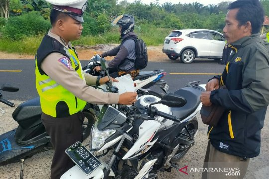 Polres Bangka Barat terbitkan 784 bukti pelanggaran lalu lintas