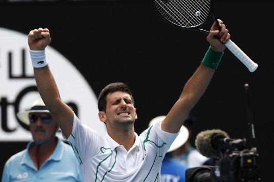 kalahkan Federer, Djokovic selangkah lagi juarai AO kedelapan