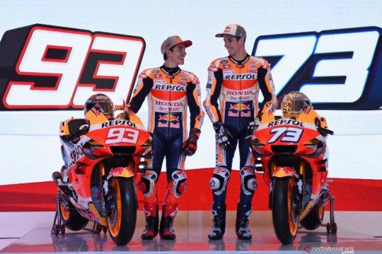 Repsol Honda perkenalkan duo Marquez sebagai pebalap di MotoGP 2020