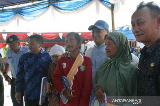 Gubernur Babel serahkan rumah layak huni, relokasi korban banjir Dusun Merante