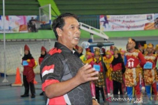 Ribuan peserta ikuti senam bedincak Piala Gubernur Babel
