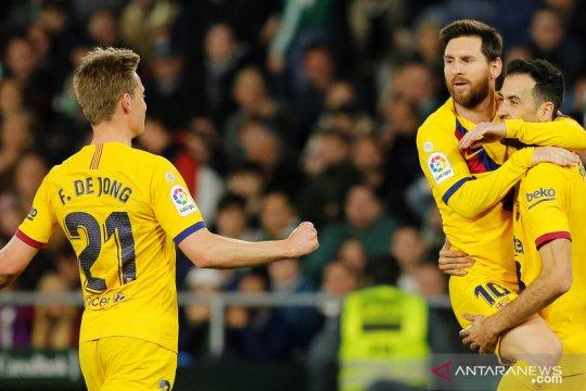 Messi dan De Jong bakal tak  main hadapi Dynamo