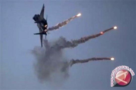 Pertahanan udara Suriah cegat serangan udara Israel di kota Palmyra