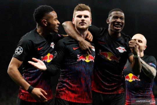 Leipzig mencuri kemenangan 1-0 atas Tottenham Hotspur