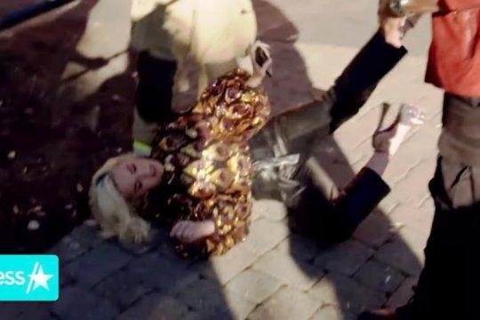 Ledakan kebocoran gas di audisi American Idol, Katy Perry jatuh