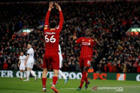 Liverpool sukses hentikan perlawanan West Ham 3-2