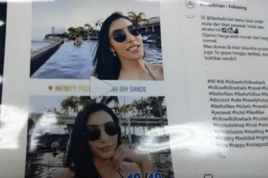 Kasus pembobolan kartu kredit seret enam artis ternama