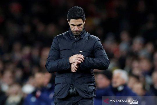 Pelatih Arsenal Mikel Arteta positif corona, Colney Training Center ditutup