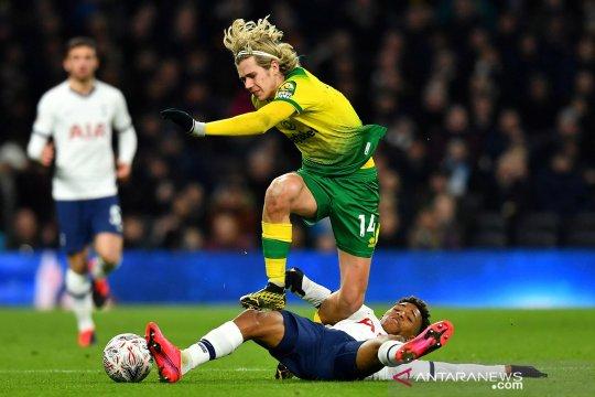 Norwich City benamkan Tottenham Hotspur  dari Piala FA