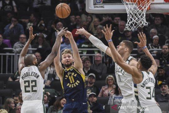 NBA : Bucks kalahkan Pacers, Giannis Antetokounmpo cetak 29 poin