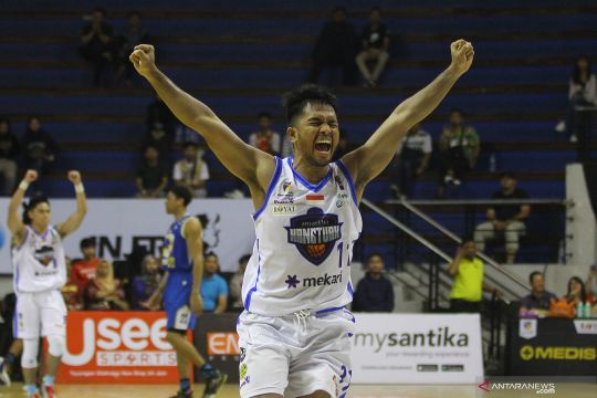 Amartha Hangtuah kalahkan Prawira Bandung 83-79