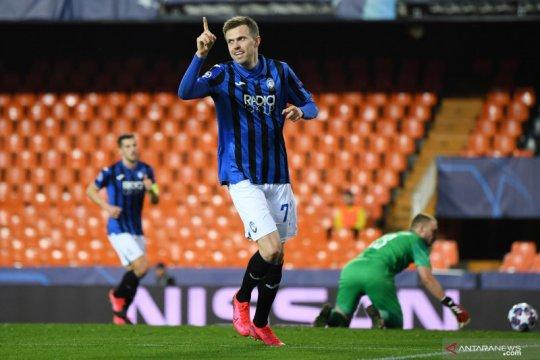 Atalanta ke delapan besar Liga Champions, dengan kemenangan 4-3 atas Valencia