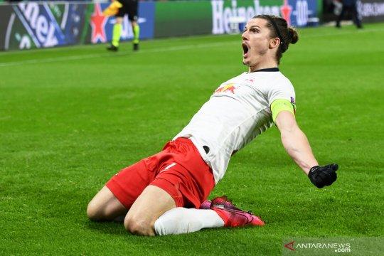 RB Leipzig ke perempat final Liga Champions setelah melumat Tottenham 3-0
