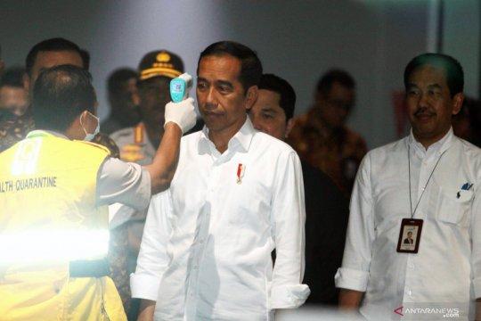 Presiden tinjau kesiapan bandara menghadapi COVID-19
