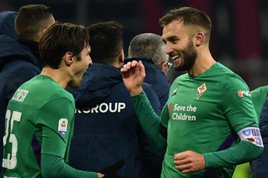 Dua pemain Fiorentina dan satu pemain Sampdoria positif terinfeksi corona