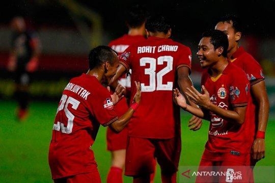 Gelandang Persija Evan Dimas terus persiapkan fisik untuk tampil Liga 1