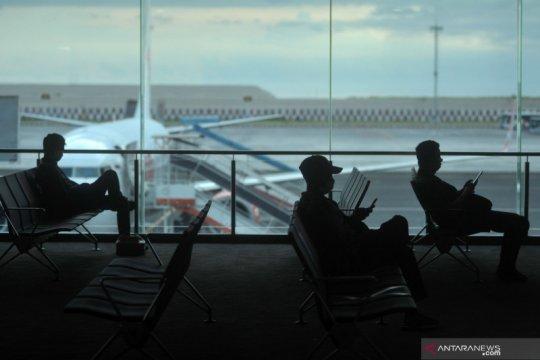 Social distancing di Bandara