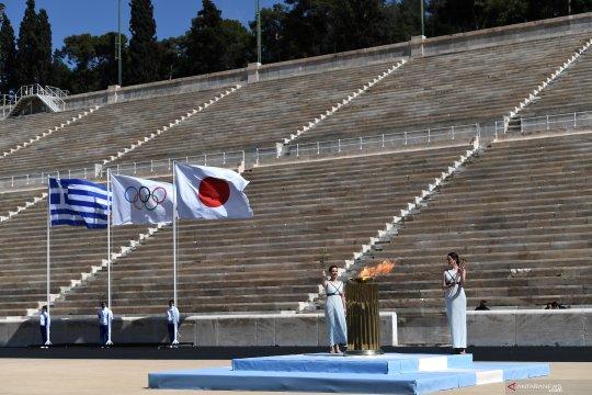 Tim renang artistik Yunani diisolasi setelah jadi klaster pertama virus corona di Olimpiade