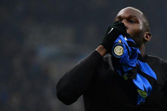 Duet Lukaku-Martinez bawa Inter Milan bertahan di papan atas
