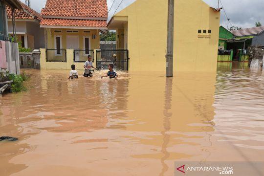 Banjir rendam tiga kecamatan di Kabupaten Serang