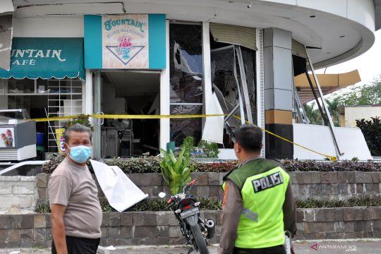 Ledakan di Plaza Ramayana Medan