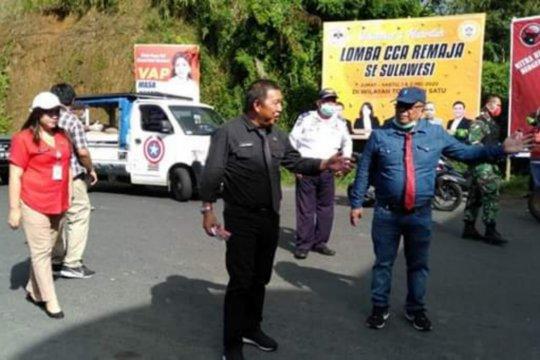 Akses masuk wilayah Mitra dibatasi