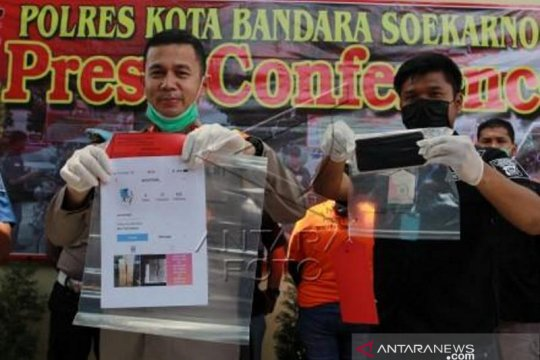 Polisi tangkap penipuan penjualan masker di Tangerang