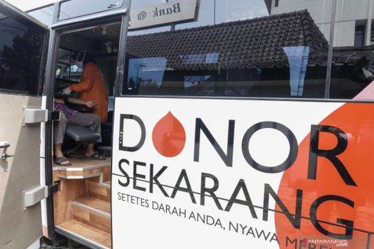 Donor darah keliling dengan social distance