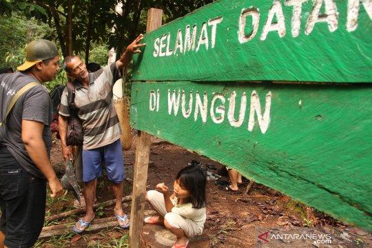 Hutan Wungun Orang Mapnan di Long Duhung