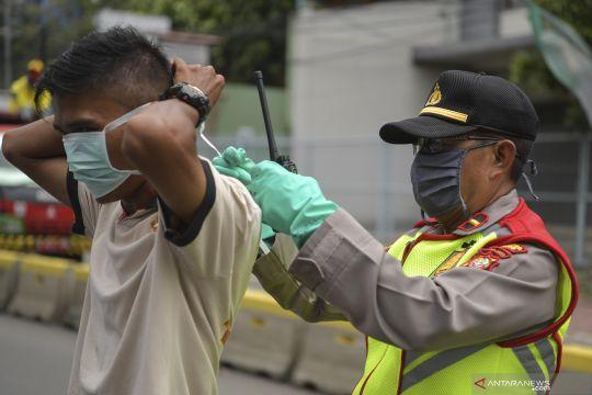 Pengawasan pelaksanaan PSBB di Jakarta