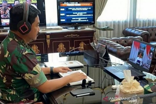 Panglima TNI: Seluruh komponen bangsa harus bersatu hadapi COVID-19