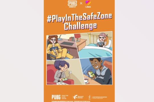 PUBG MOBILE dan Likee kolaborasi adakan tantangan #PlayInTheSafeZone