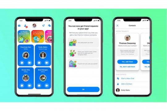Facebook meluncurkan Messenger Kids di Indonesia
