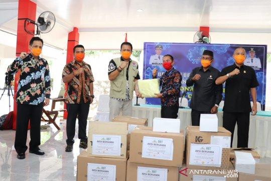 BPBD Babel salurkan bantuan APD ke Pemkab Bangka