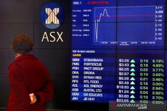Saham Australia tergelincir terseret saham teknologi