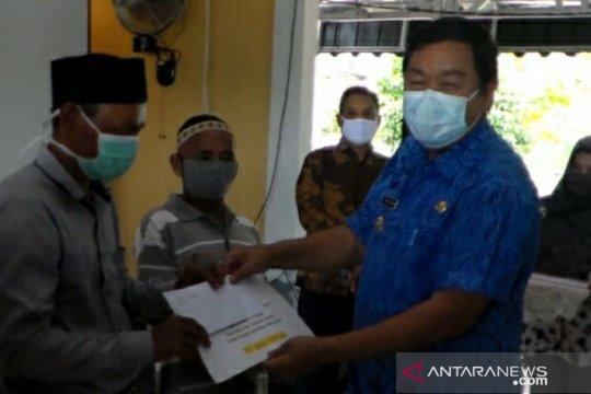 Tiga desa di Bangka Selatan mulai salurkan BLT