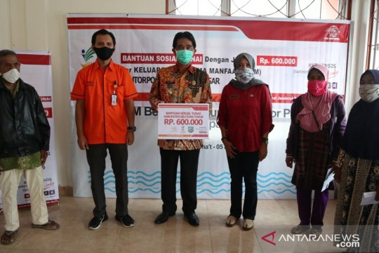 Tiga Kantor Pos di Belitung Timur layani penerima BST
