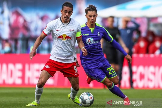 RB Leipzig harus rela berbagi poin dengan Freiburg