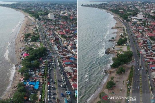 Wisata Lebaran di Pantai Padang