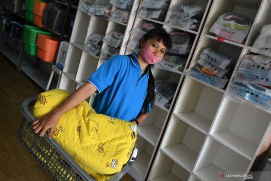 Omzet jasa pencucian pakaian menurun